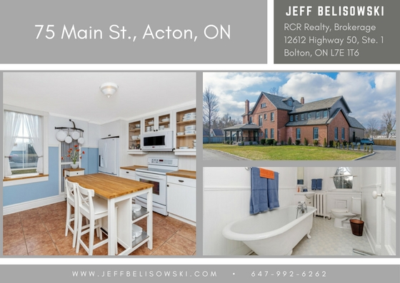 This home was purchased by a fabulous couple that I now call friends - 75 Main St, Acton, Ontario