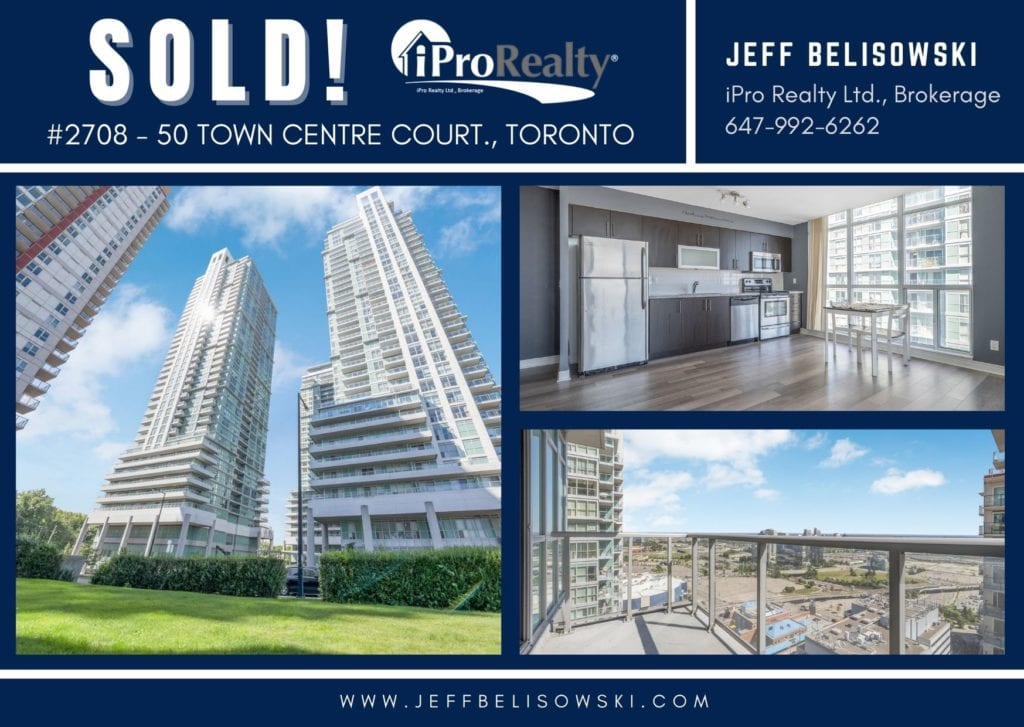 SOLD - #2708 - 50 TOWN CENTRE COURT., TORONTO
